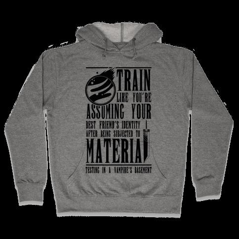 Train Like Cloud Hooded Sweatshirt
