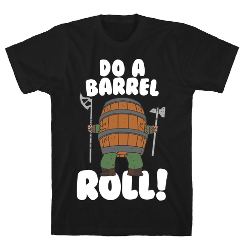 Do a Barrel Roll (The Hobbit) Mens T-Shirt