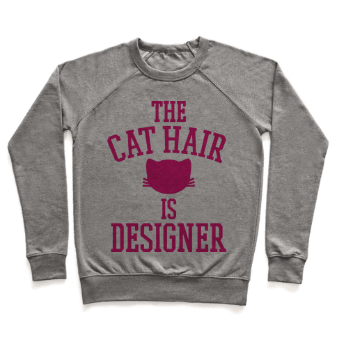 The Cat Hair is Designer Pullover