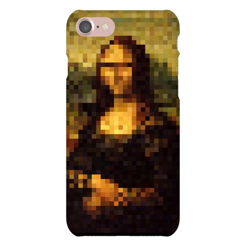 Pixel Mona Lisa