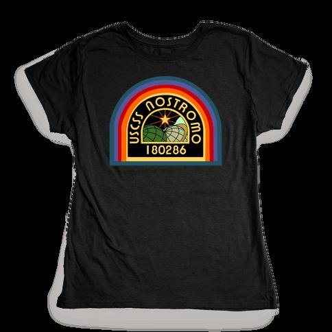 Nostromo Crew Member Womens T-Shirt