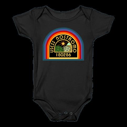 Nostromo Crew Member Baby Onesy