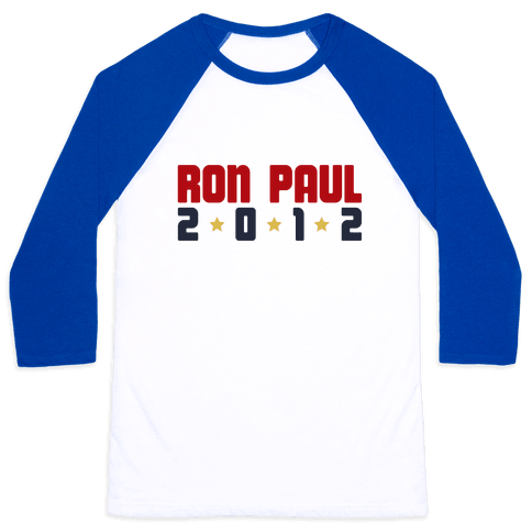 I Want Ron Paul! Baseball Tee