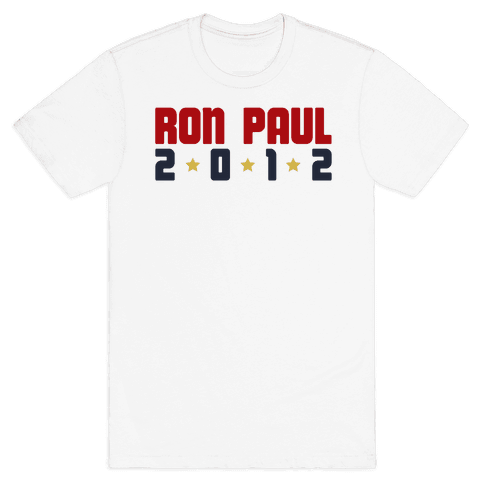 I Want Ron Paul! Mens T-Shirt