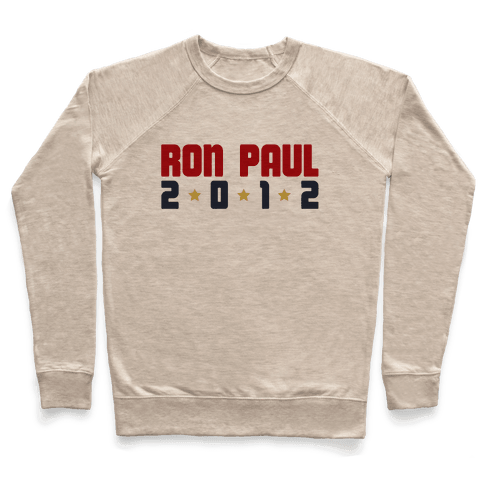 I Want Ron Paul! Pullover