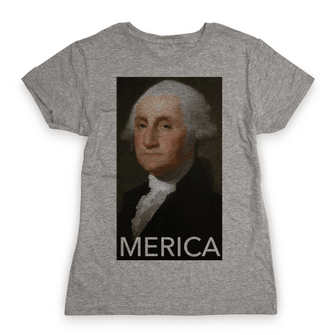 Washington's Merica Womens T-Shirt