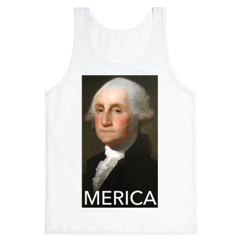 080256889807 Washington's Merica Tank Top