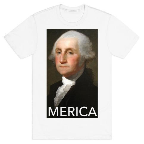 Washington's Merica Mens/Unisex T-Shirt