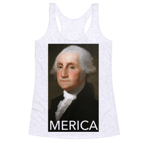Washington's Merica Racerback Tank Top