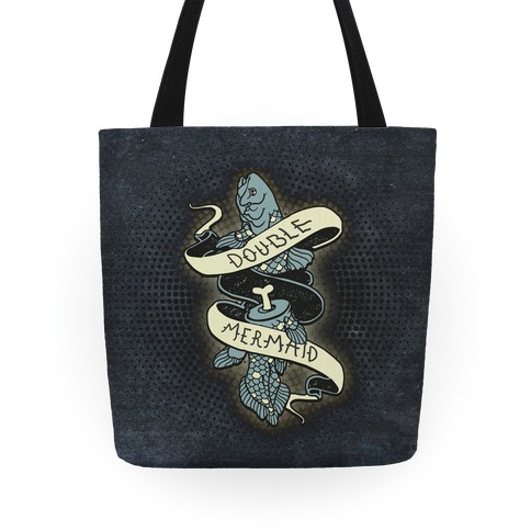 Double Mermaid Tote