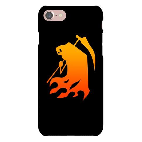 Kanji's Grim Reaper (Persona) Phone Case