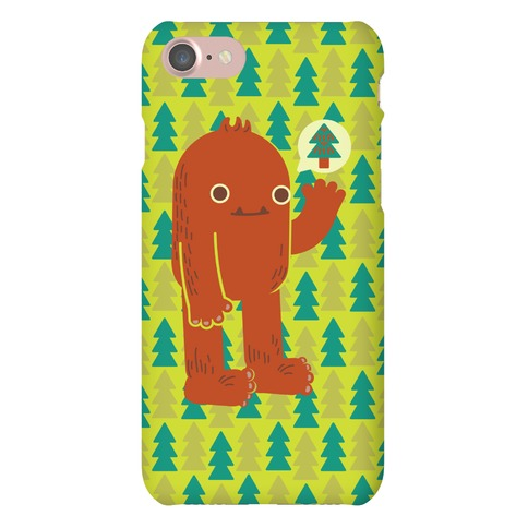 Sasquatch Phone Case