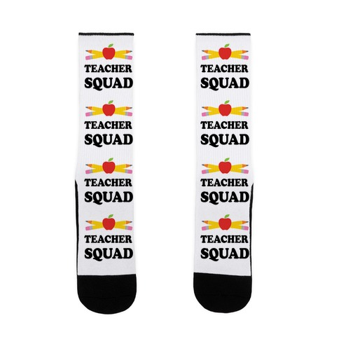 Teacher Squad Sock