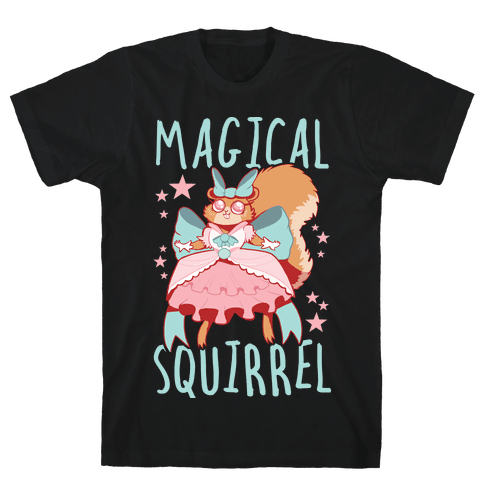 Magical Squirrel Mens/Unisex T-Shirt