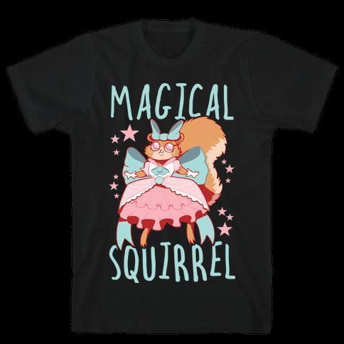 Magical Squirrel Mens/Unisex T-Shirt
