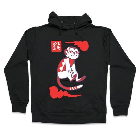 Monkey - Chinese Zodiac Hooded Sweatshirt