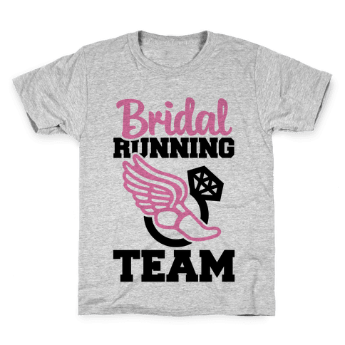 Bridal Running Team Kids T-Shirt