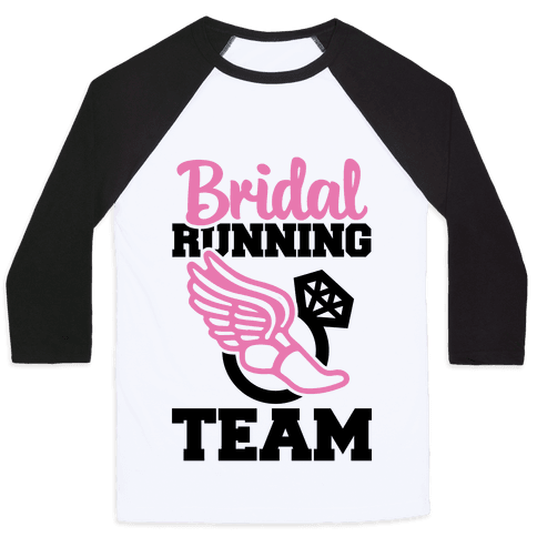 Bridal Running Team Baseball Tee