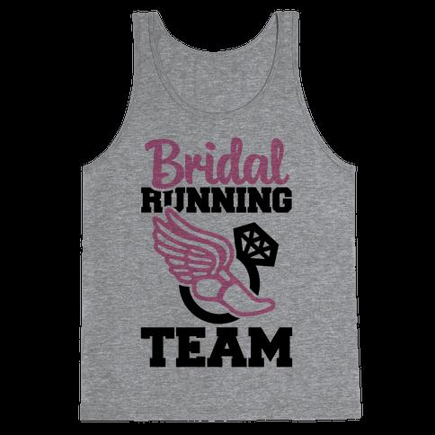 Bridal Running Team Tank Top