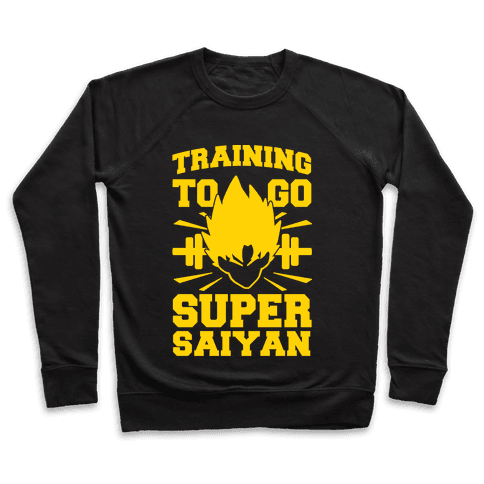 Training to Go Super Saiyan Pullover