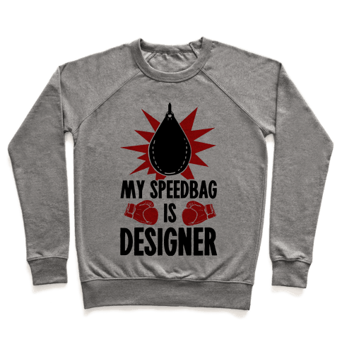 My Speedbag is Designer Pullover