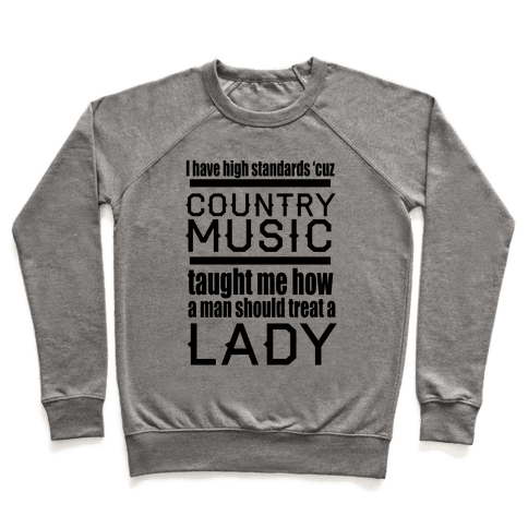 Country Music Taught Me Pullover