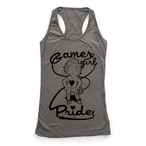 Gamer Girl Pride Racerback Tank Top