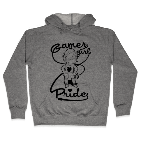 Gamer Girl Pride Hooded Sweatshirt