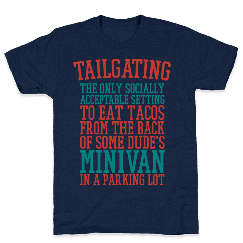 Tailgating Mens T-Shirt