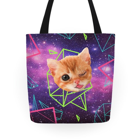 Miley Cat Head Tote