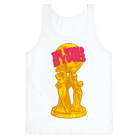 The World Is Yours Statue Tank Top