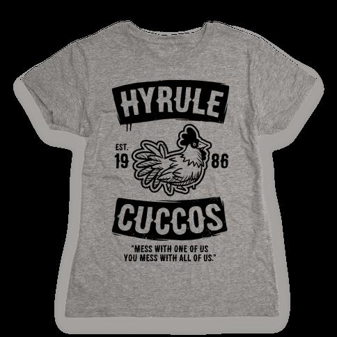 Hyrule Cuccos Womens T-Shirt
