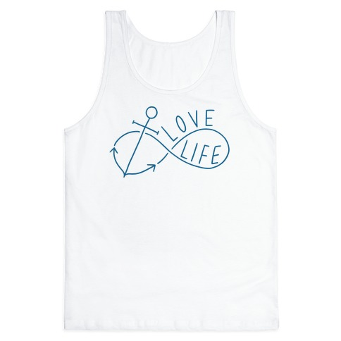 Love Life (Anchor/Infinity) Tank Top