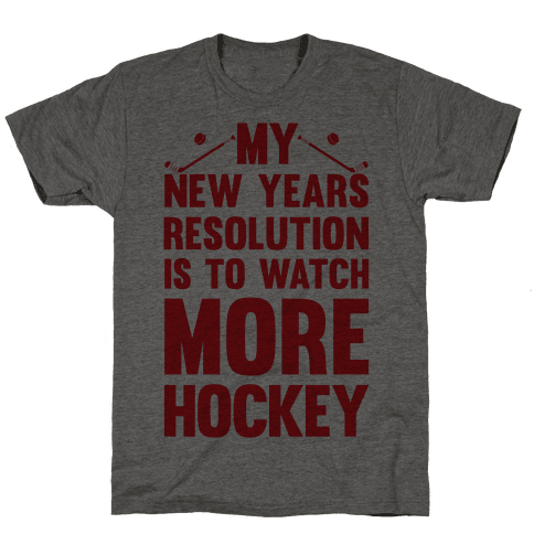 My New Years Resolution Is To Watch More Hockey