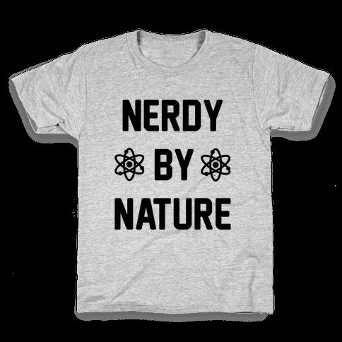 Nerdy By Nature Kids T-Shirt