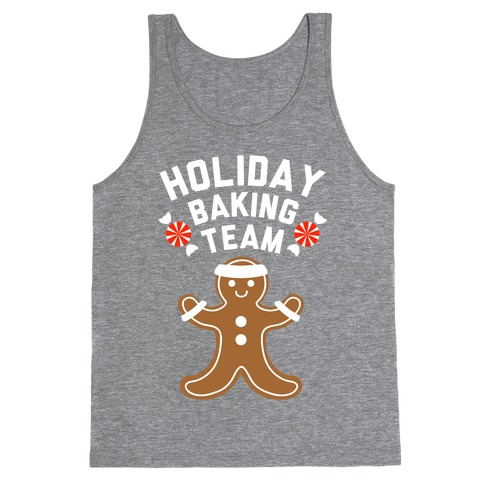 Holiday Baking Team (White Ink) Tank Top