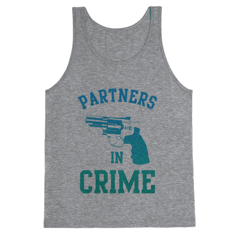Partners in Crime (Blue) Tank Top