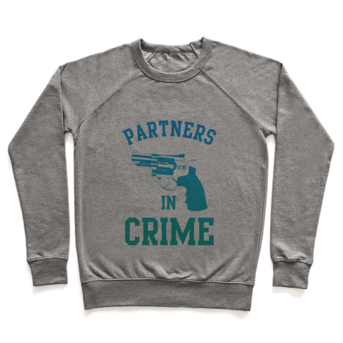 Partners in Crime (Blue) Pullover