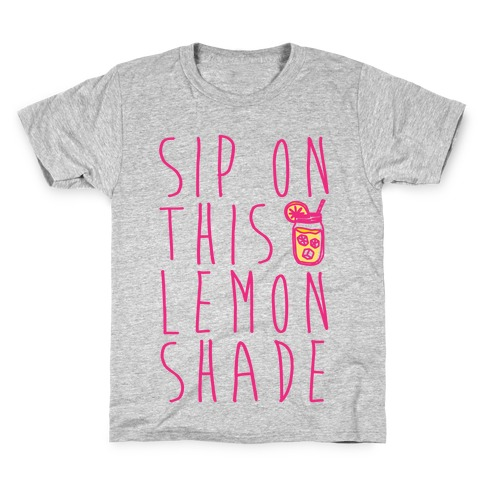 Sip On This Lemon Shade Kids T-Shirt