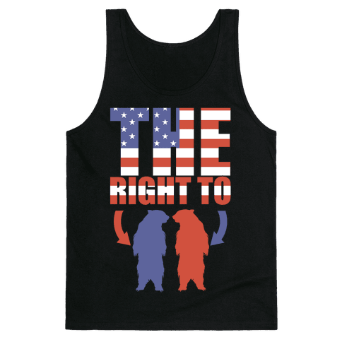The Right to Bear Arms Tank Top