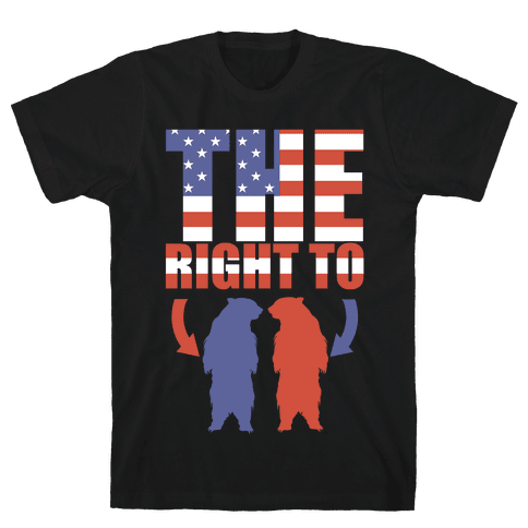 The Right to Bear Arms Mens T-Shirt