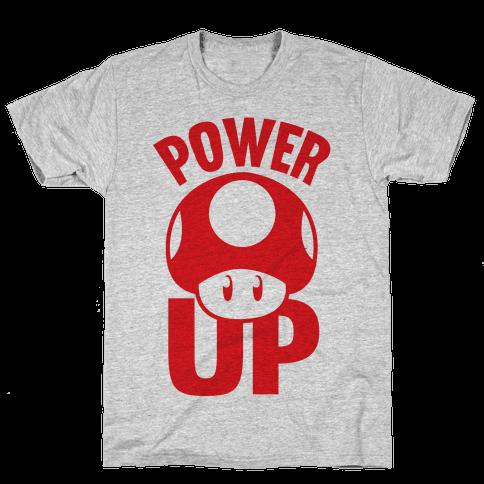 Power Up Mens T-Shirt