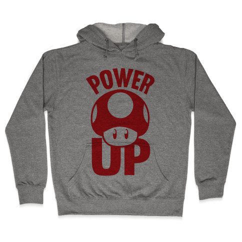 Power Up Hooded Sweatshirt