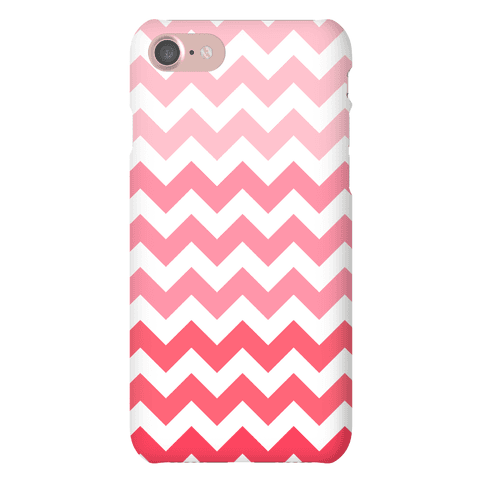 Pink Chevron Phone Case