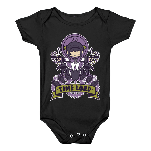 Time Lord Homura Akemi Baby Onesy