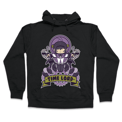 Time Lord Homura Akemi Hooded Sweatshirt