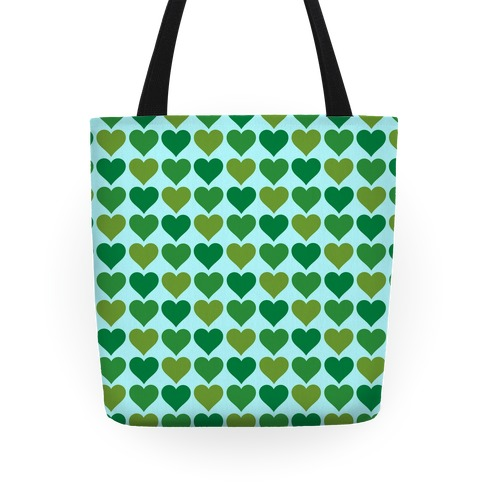 Heart Pattern Tote Tote