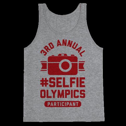 Selfie Olympics Tank Top