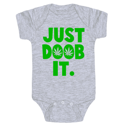 Just Doob it Baby Onesy