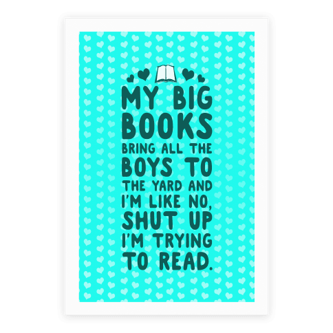 My Big Books Bring All The Boys To The Yard Poster
